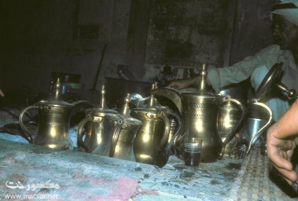 16 The burgan (the coffee making set)